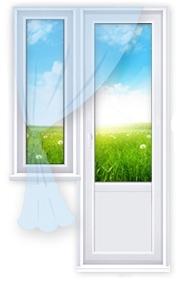 """Пластиковые окна - магазин дверей """"твой выбор"""" псков."""